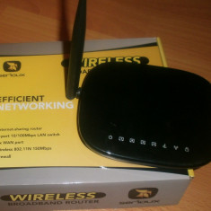 Router Wireless Serioux SRX-WR150A1, Porturi LAN: 4, Porturi WAN: 1