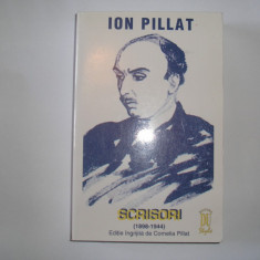 ION PILLAT- SCRISORI- (1898- 1944)  RF13/4