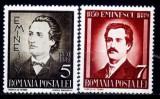 Romania 1939 - Eminescu,serie completa,neuzata