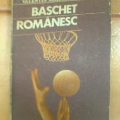 Baschet romanesc Valentin Albulescu carte sport fan hobby ilustrata foto