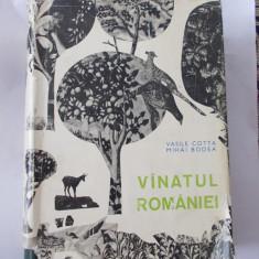 VANATUL ROMANIEI - VASILE COTTA SI MIHAI BODEA, ANUL CARTII 1969 . - Carte Biologie