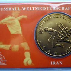 5.336 MEDALIE FOTBAL GERMANIA 2006 IRAN UNC IN FOLDER, Europa