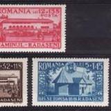 Romania 1944 - Caminul Radaseni, serie completa, neuzata - Timbre Romania