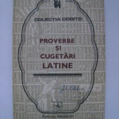 Proverbe si cugetari latine (Cogito, 1976) - Carte Proverbe si maxime