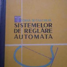 TEORIA SI CALCULUL SISTEMELOR DE REGLARE AUTOMATA DE J.G.GILLE, P.DECAULME, M.PELEGRIM, CARTONATA, TIRAJ MIC, EDITURA TEHNICA 1962, STARE FOARTE BUNA - Carti Automatica