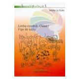 Maria Oltean - Limba romana cls.1, fise de lucru - Manual scolar