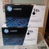 Cartus toner ORIGINAL HP Q2624A, HP 24 pentru imprimanta HP 1150, gol, pentru refilare.