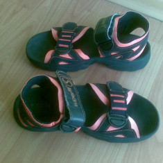 Sandale din piele firma Superfit marimea 38, arata impecabil! - Sandale copii Superfeet, Culoare: Negru, Unisex, Negru