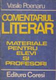 Comentariul literar - Vasile Poenaru