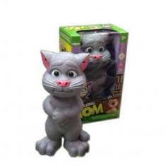 Jucaria Talking Tom Motanul Care Vorbeste Si Reactioneaza La Atingere - Figurina Animale
