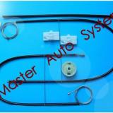 Kit reparatie macara geam actionat electric Mercedes Vito: W639 109 CDI 2.2, 111 CDI 2.2, 115 CDI 2.2, 119 122 123 fata stanga