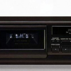 Casetofon Deck TECHNICS RS-BX501 cu telecomanda Technics. - Deck audio