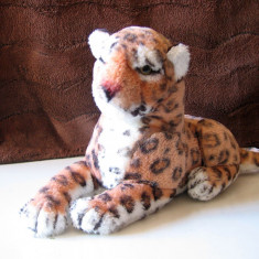 Jucarie de plus leopard ~ 32 x 20 cm - Figurina Animale Altele