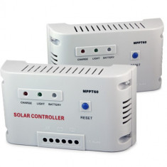 REGULATOR CONTROLER SOLAR MPPT   Panouri fotovoltaice  AUTODETECTIE 12/24 V 60 A