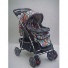 CARUCIOR BABY CARE M203 - Carucior copii 3 in 1 Baby Care, Pliabil, Altele, Maner reversibil