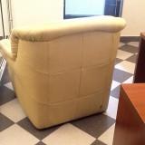 canapea 2 locuri+fotoliu piele naturala