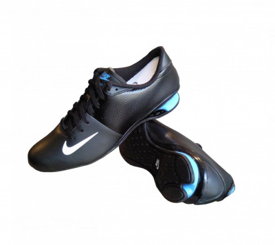 chaussures de sport 5ec9a d8bb6 adidasi originali NIKE SHOX AGILE LEATHER 535823 014 ...