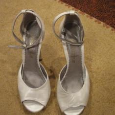 PANTOFI MIREASA - Pantof dama, Culoare: Alb, Marime: 39, Alb