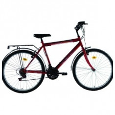 Vand 2 biciclete dhs - Bicicleta de oras DHS, Discuri, Drept(Flatbar), Otel, Fara amortizor, Unisex