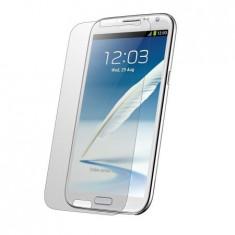 Folie protectie display telefon transparenta Samsung Galaxy Note 2 - Folie de protectie Samsung, Lucioasa