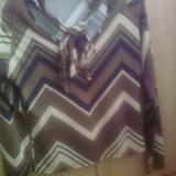 Bluza dama Chichi's Paris, S-M, cu fir auriu, Maneca lunga, Din imagine