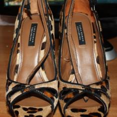 Pantofi Zara - Pantof dama Zara, Marime: 40, Din imagine