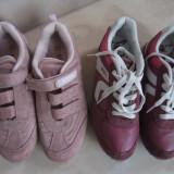 2 PERECHI PANTOFI SPORT GEN ADIDASI NR 36 RESPECTIV 37 - Adidasi copii, Culoare: Mov, Fete