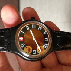 Vand ceas Swatch cu alarma . - Ceas barbatesc Swatch, Sport, Quartz