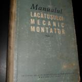 Radu Bordea-Manualul lacatusului mecanic montator - Carti Mecanica
