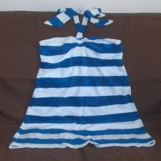 Rochie de plaja Victoria's Secret (XL) - Rochie de zi Victoria S Secret, Culoare: Alb, Cu bretele, Bumbac