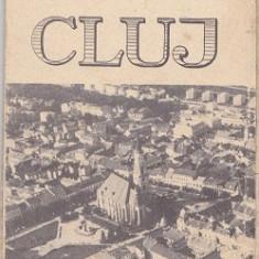 Harta ,  Municipiului Cluj Napoca 1972
