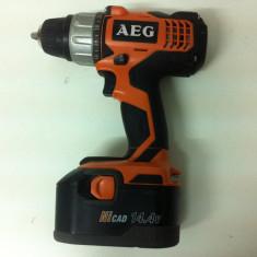 AEG BSB 14G,, Autofiletanta din 2010, - Bormasina