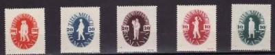 Romania 1946 - 1 Mai,serie completa,neuzata foto
