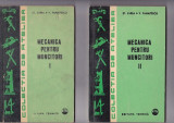 St. Zarea si V. Panaitescu - Mecanica pentru Muncitori vol I si II