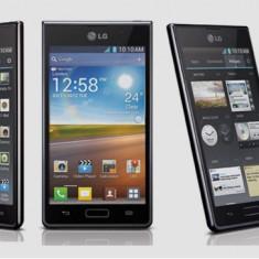 Telefon LG, Ecran LCD, Diagonala 4.3 inch, 16M culori, Sistem de operare Android 4.0.3, Memorie interna 4 GB, Memorie RAM 512 MB - Telefon mobil LG Optimus L7, Negru, Neblocat