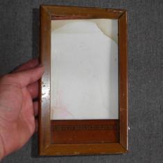 Rama veche din lemn - Rama foto