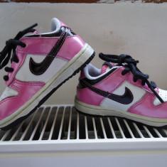 Adidasi nike - Adidasi copii Nike, Marime: 21, Culoare: Roz, Fete, Piele naturala