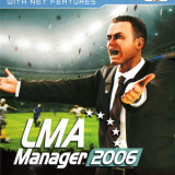 LMA Manager 2006 PS2 PAL UK DVD Original - Jocuri PS2