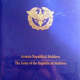 ARMATA REPUBLICII MOLDOVA, album de prezentare PENTRU PROTOCOL, TIRAJ 800 EX, 17