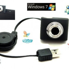 Webcam HD, USB 2.0, 5.0M pixeli, Peste 2.4 Mpx, CMOS, Nu
