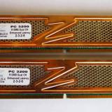 Vand chit dual channel 2x512Mb OCZ - Memorie RAM Alta, DDR, 400 mhz