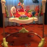 Fisher-Price Rainforest Jumperoo scaun premergator centru joaca copii