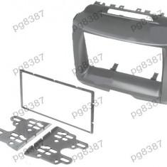 Rama adaptoare Kia Sportage, 2 DIN, neagra - 000577