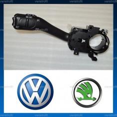 Maneta tempomat pentru VW Golf 4, Passat B5, Passat B5.5, Bora, SKODA Octavia 1, Superb 1. Maneta Cruise Control, Pilot Automat VW (cablaj inclus), Volkswagen