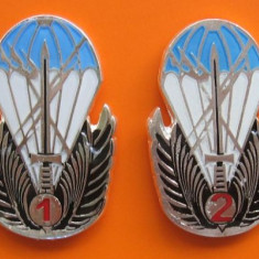 Set complet insigne militare, specialist de clasa, forte speciale - Insigna