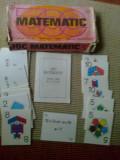 Joc matematic romanesc pentru copii perioada comunista RSR epoca de aur rar