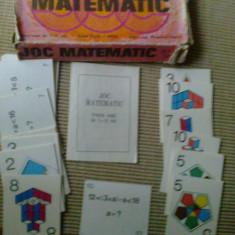 Joc matematic romanesc carti pentru copii vechi anii 80 epoca de aur hobby - Joc colectie