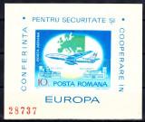 ROMANIA 1977 CSCE NEDANTELAT MNH