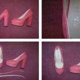 Vand pantofi dama marimea 35! Negociabil! - Pantof dama, Culoare: Roz, Roz