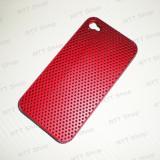 Toc Husa iPhone 4S Plastic. Rosu, iPhone 4/4S, Apple